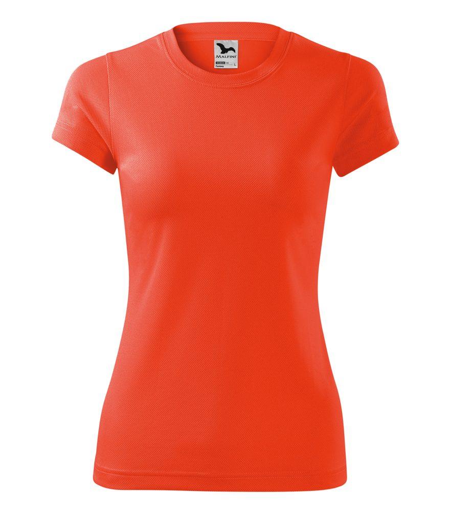 Adler Dámske tričko Fantasy - Neonově oranžová | L