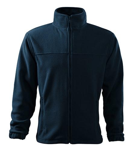 Pánská fleecová mikina Jacket - Námořní modrá   XXXXL