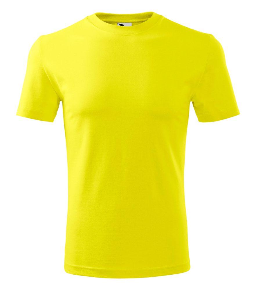 Adler Pánske tričko Classic New - Citrónová | XXXL