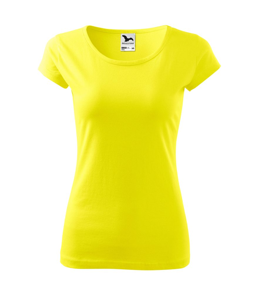Adler Dámske tričko Pure - Citrónová | M