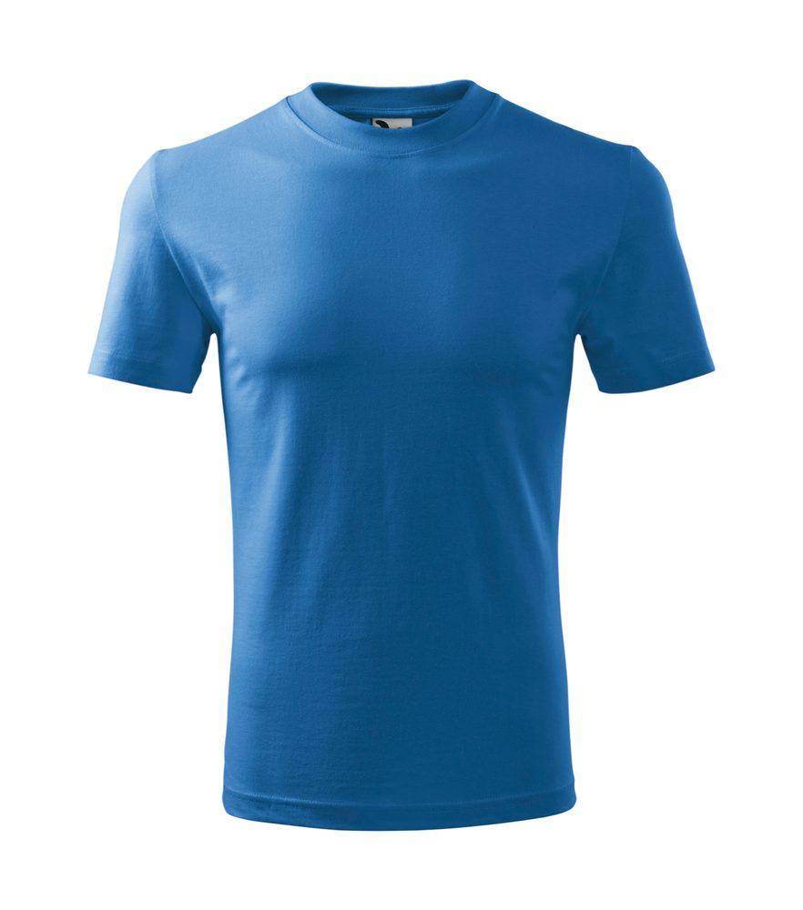 Adler (MALFINI) Detské tričko Basic - Azurově modrá | 146 cm (10 let)