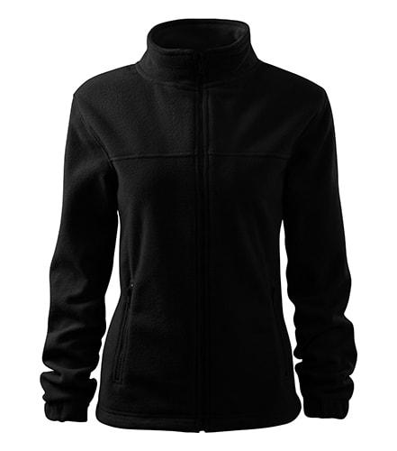 Dámská fleecová mikina Jacket - Černá | XXL