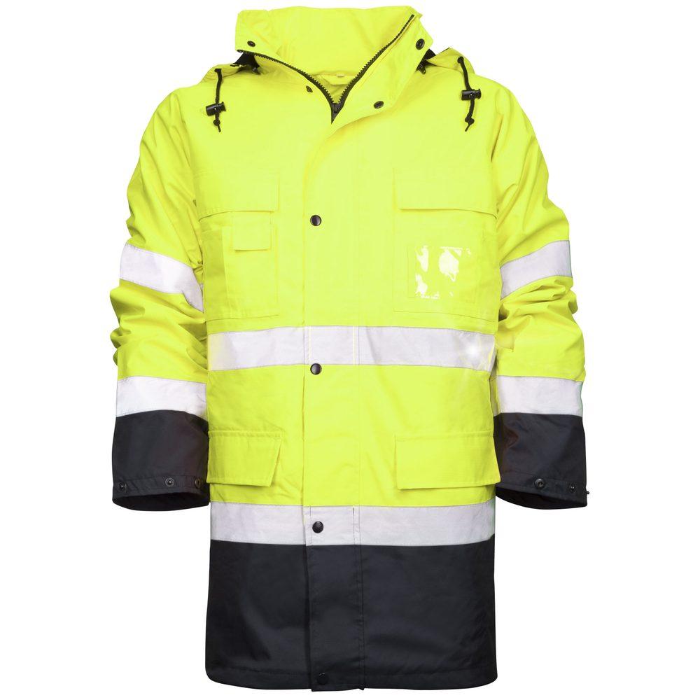 Ardon Reflexná pracovná bunda s kapucňou Maxwell - Žlutá | XL