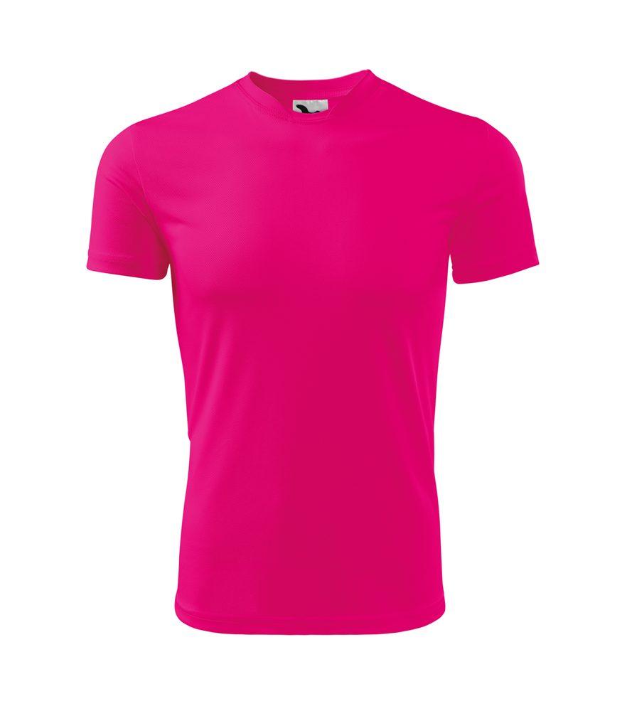 Adler Detské tričko Fantasy - Neonově růžová | 146 cm (10 let)