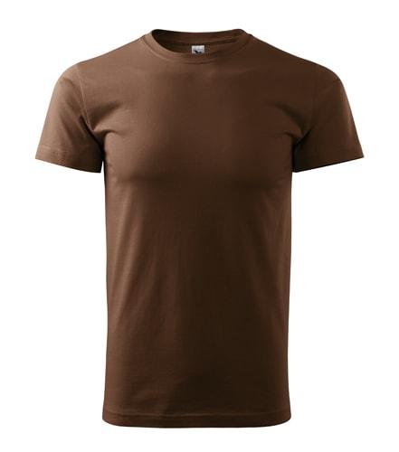 Adler Pánske tričko Basic - Čokoládová | XXXL