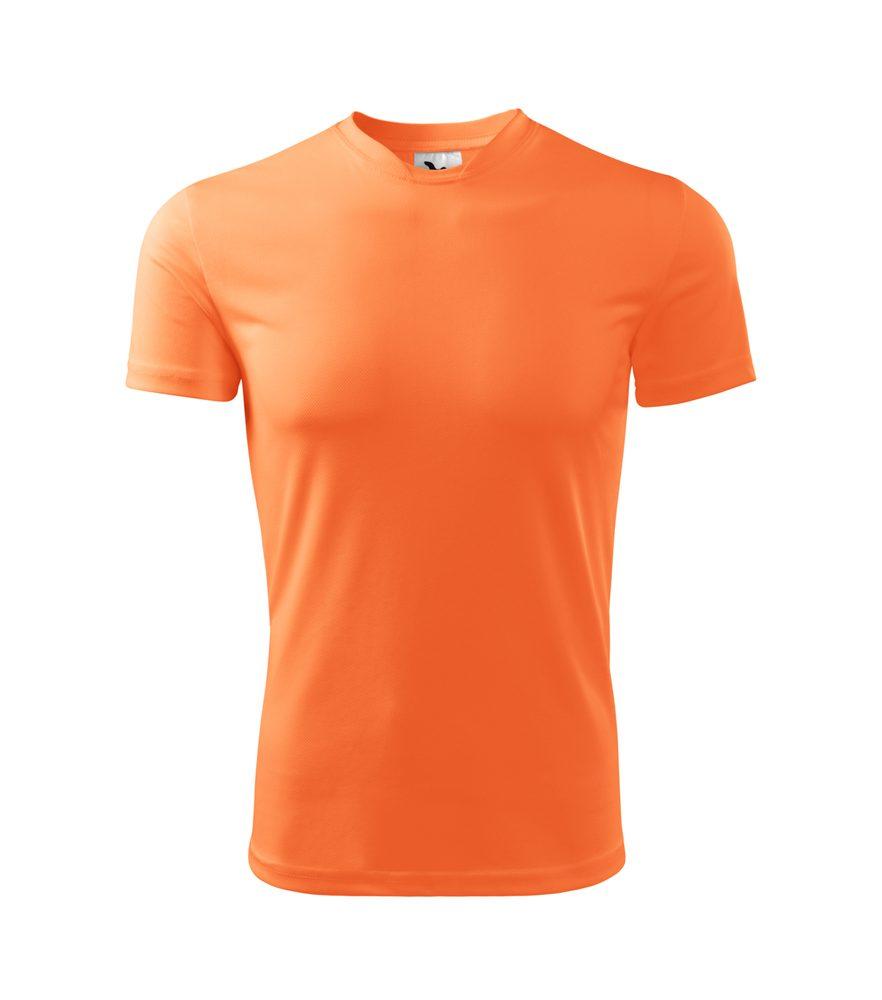 Adler Detské tričko Fantasy - Neonově mandarinková | 146 cm (10 let)