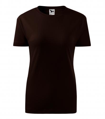 Adler Dámske tričko Basic - Kávová | L