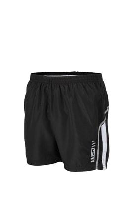 Pánské běžecké šortky JN488 - Černá / bílá | S
