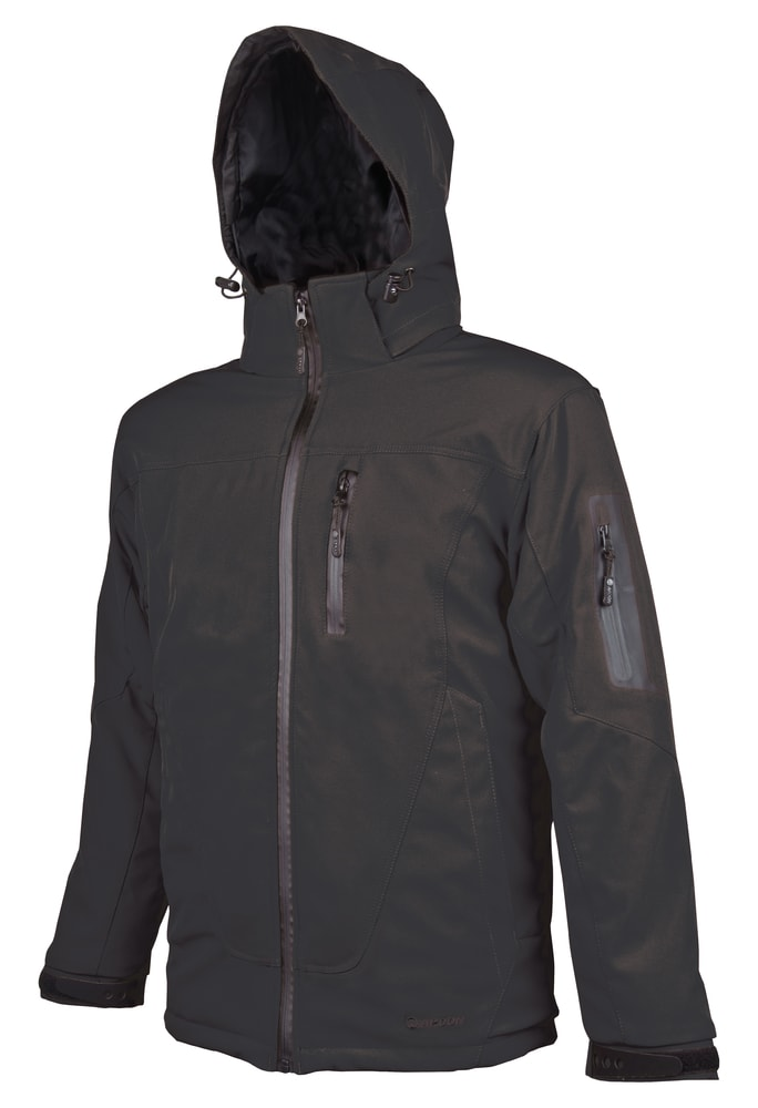 Ardon Pánska softshellová bunda Spirit - Černá | XXXXL