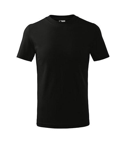 Adler Detské tričko Classic - Černá | 158 cm (12 let)