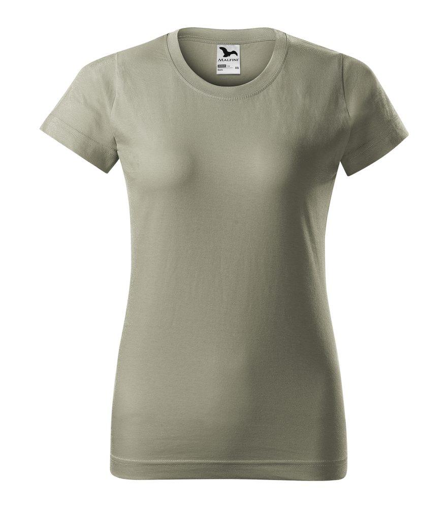 Adler Dámske tričko Basic - Světlá khaki | XXL