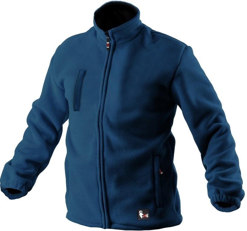 Canis Pánska fleecová bunda OTTAWA - Modrá | XS