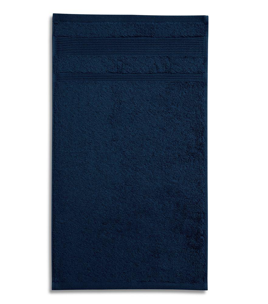 Adler (MALFINI) Uterák Organic - Námořní modrá | 50 x 100 cm