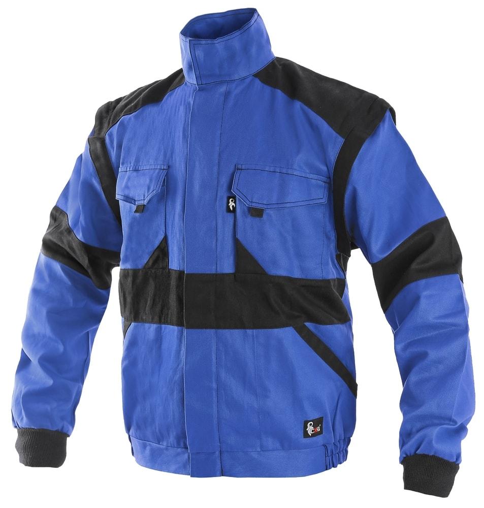 Canis Zimná pracovná bunda CXS LUXY HUGO - Modrá / černá | 46