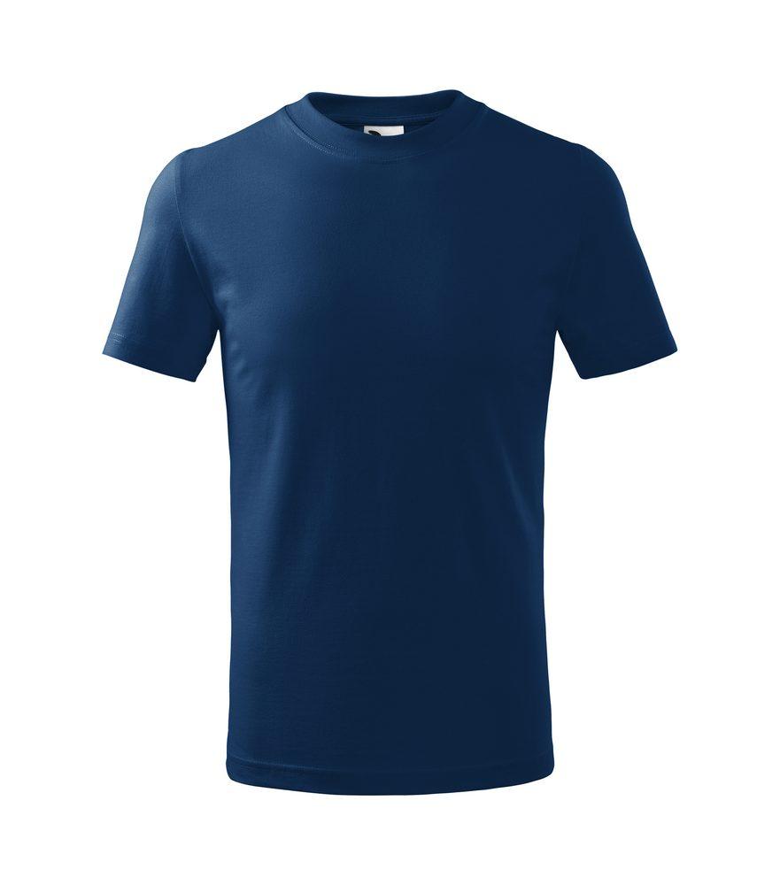 Adler (MALFINI) Detské tričko Basic - Půlnoční modrá | 146 cm (10 let)