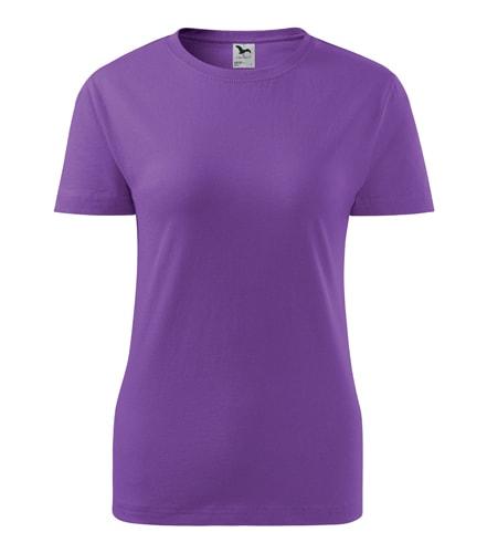 Adler Dámske tričko Basic - Fialová | L