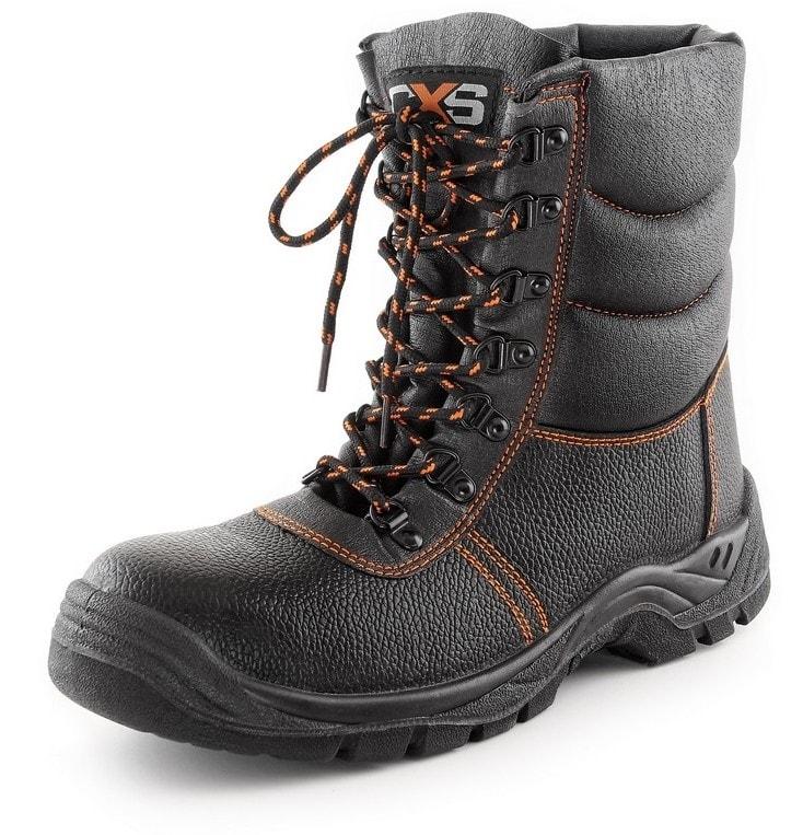 Canis Zimná poloholeňová obuv s oceľovou špičkou STONE TOPAZ S3 - 40