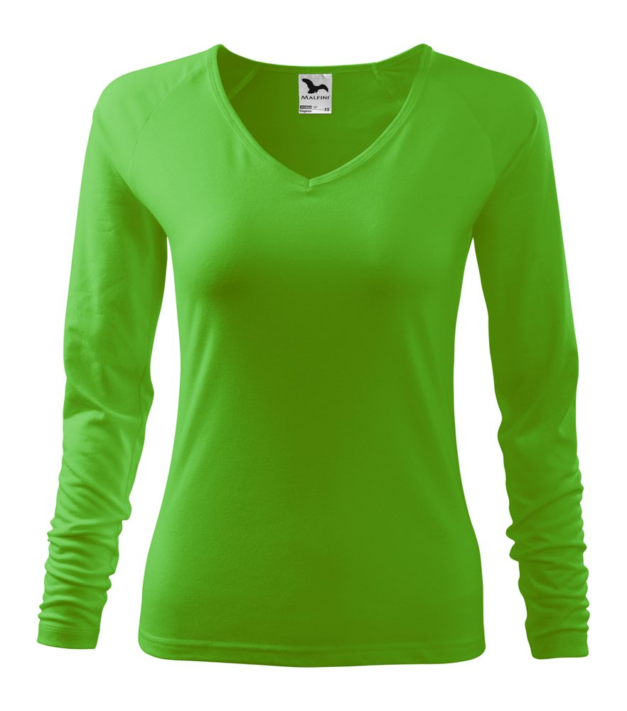 Adler Dámske tričko s dlhým rukávom Elegance - Apple green | XXL