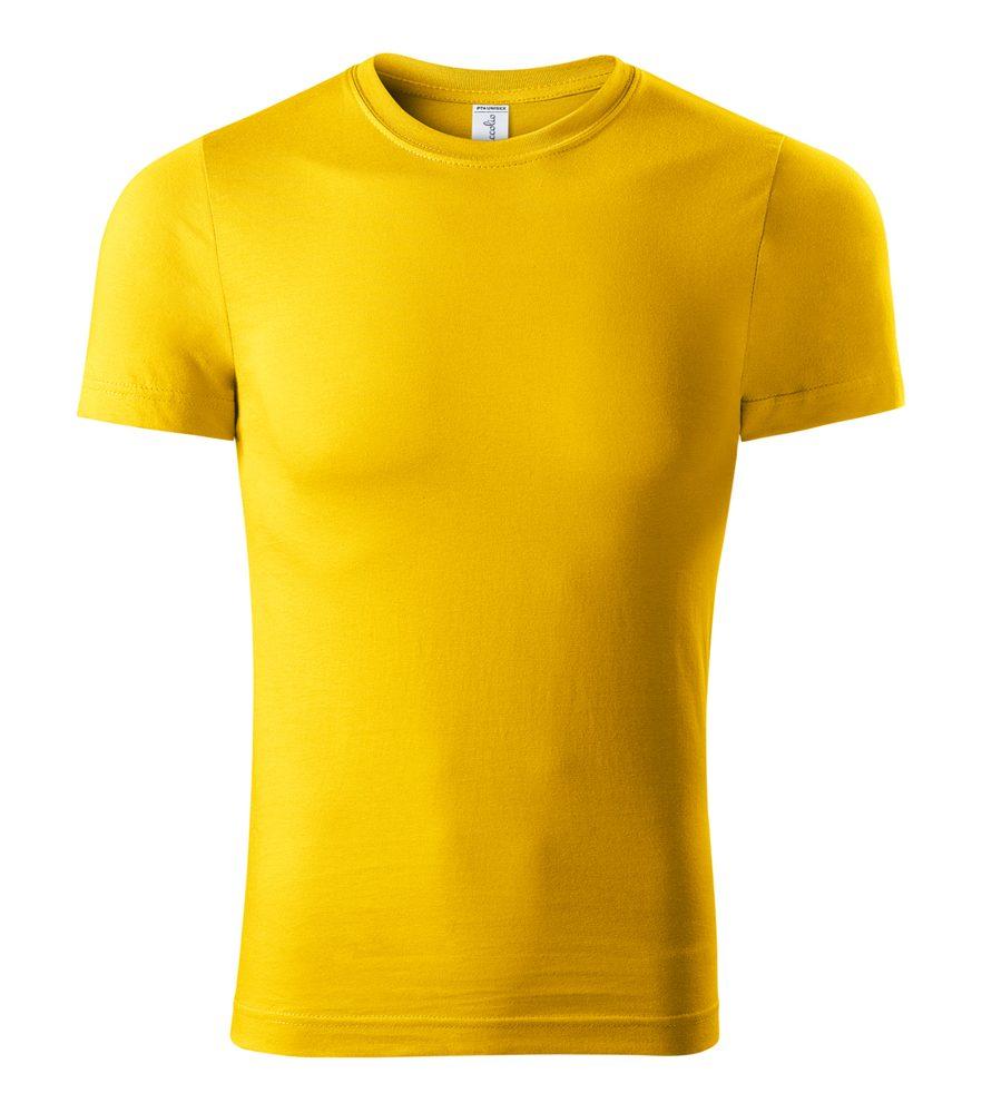 Adler (MALFINI) Tričko Peak - Žlutá | M