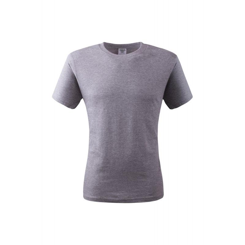 Keya Pánske tričko ECONOMY - Šedý melír   S