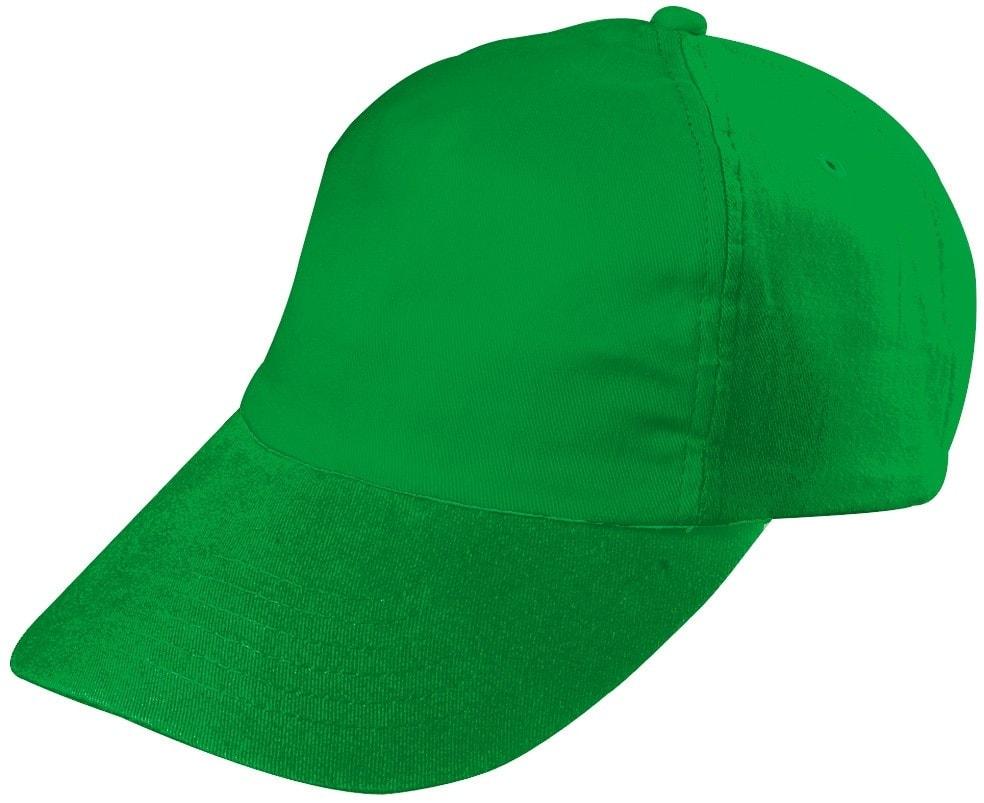 Dětská 5P kšiltovka MB7010 - Zelená