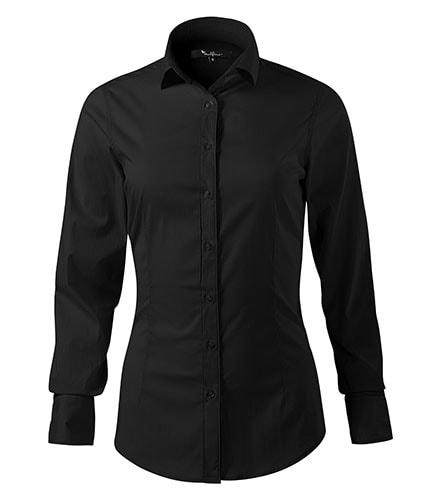 Adler Dámska košeľa s dlhým rukávom Dynamic - Černá   S