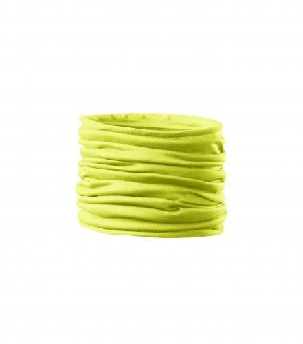 Adler Multifunkční šátek Twister - Neonově žlutá | uni