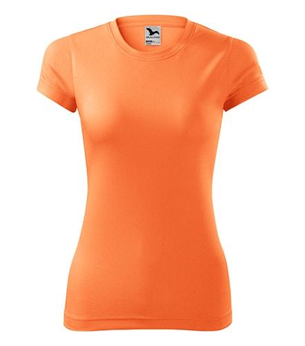 Adler Dámske tričko Fantasy - Neonově mandarinková | S