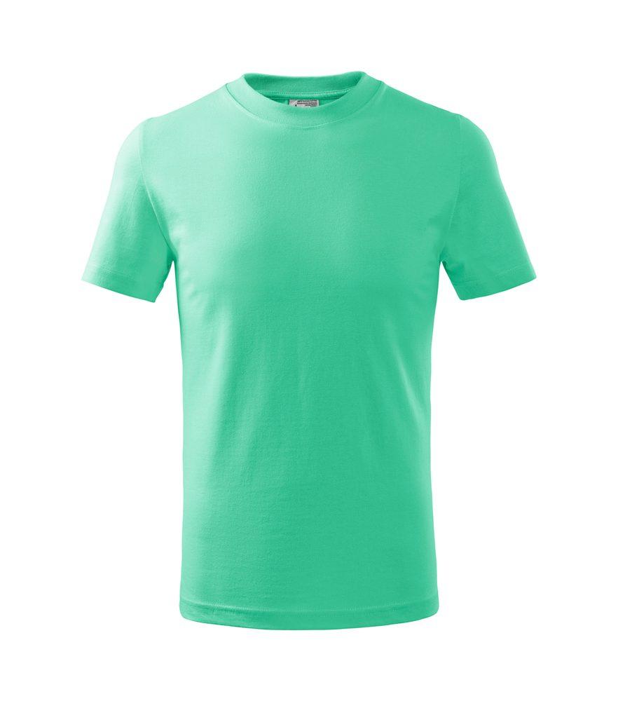 Adler (MALFINI) Detské tričko Basic - Mátová   110 cm (4 roky)