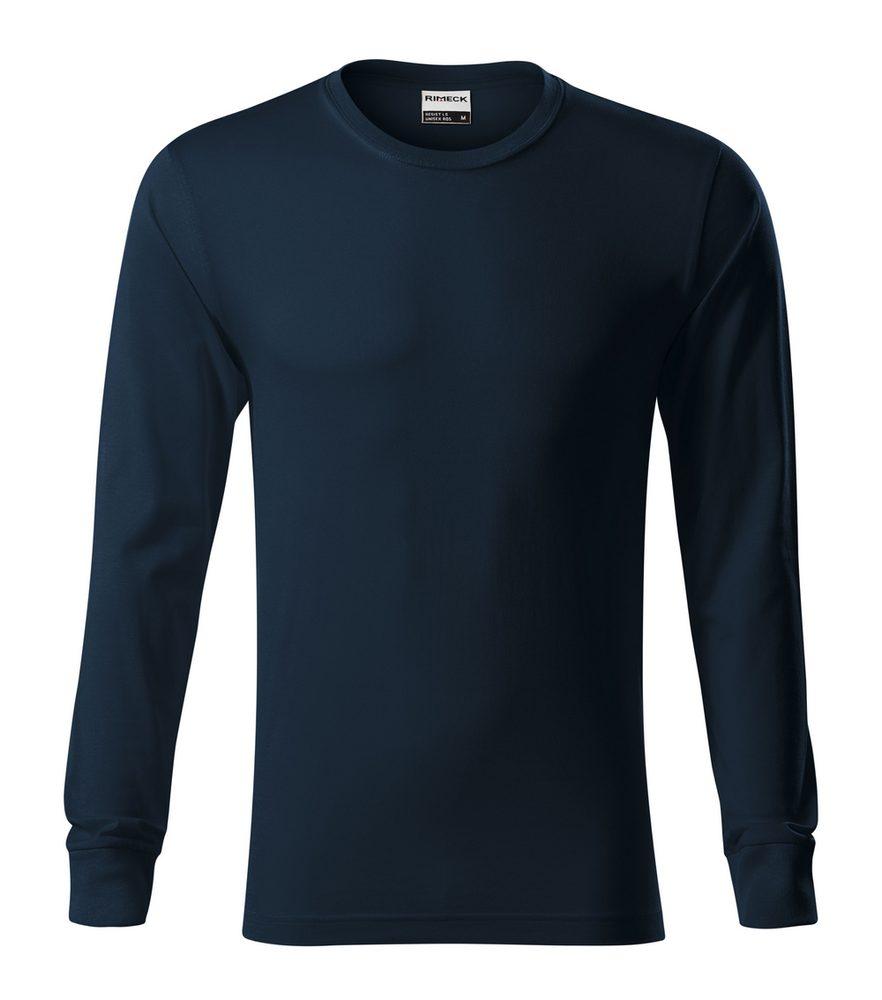 Adler (MALFINI) Tričko s dlhým rukávom Resist LS - Námořní modrá   S