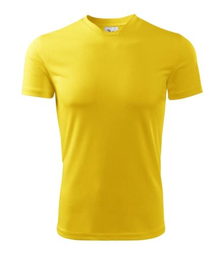 Adler Detské tričko Fantasy - Žlutá | 122 cm (6 let)