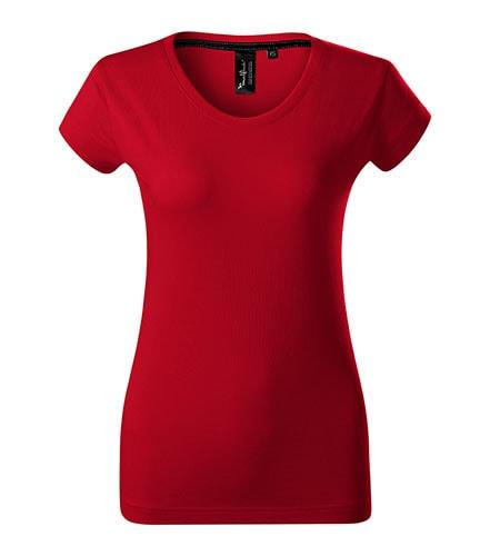 Adler Dámske tričko Malfini Exclusive - Jasná červená | S