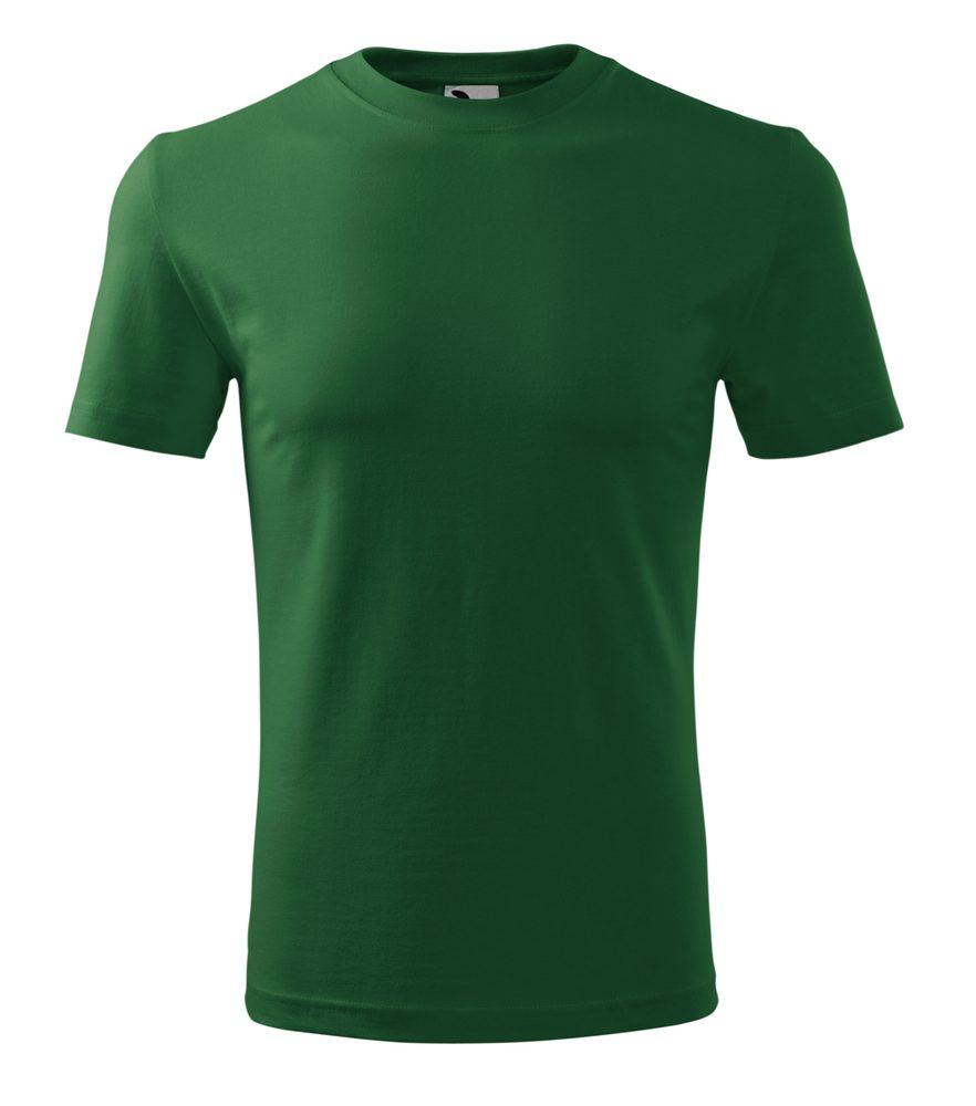 Adler (MALFINI) Pánske tričko Classic New - Lahvově zelená | L