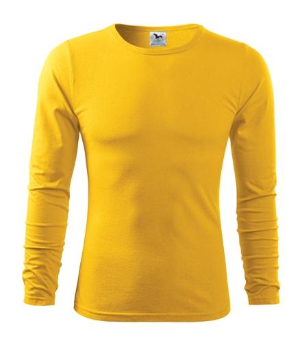 Adler Pánske tričko s dlhým rukávom Fit-T Long Sleeve - Žlutá | XXL