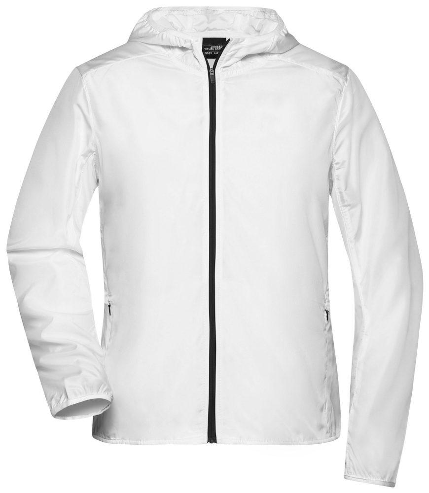 James & Nicholson Ľahká dámska športová bunda JN533 - Bílá | S