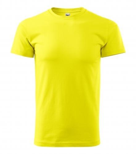 Adler Pánske tričko Basic - Citrónová | S