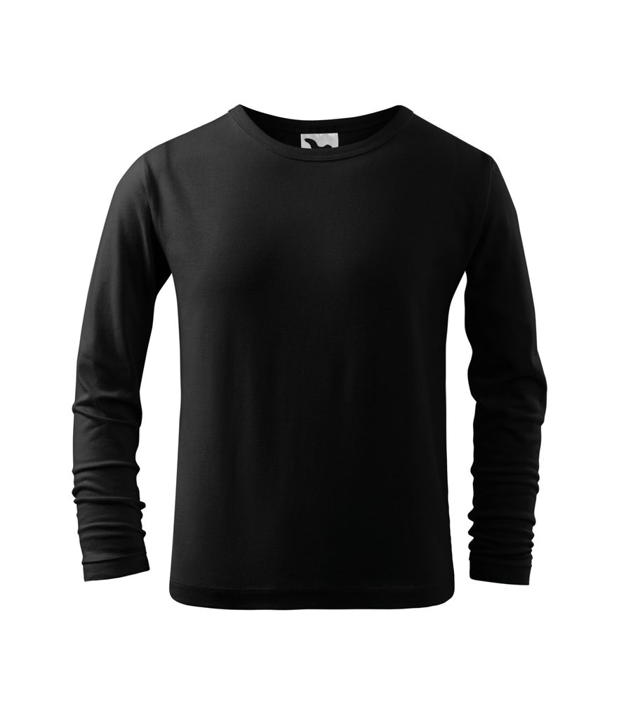 Adler Detské tričko s dlhým rukávom Long Sleeve - Černá   110 cm (4 roky)