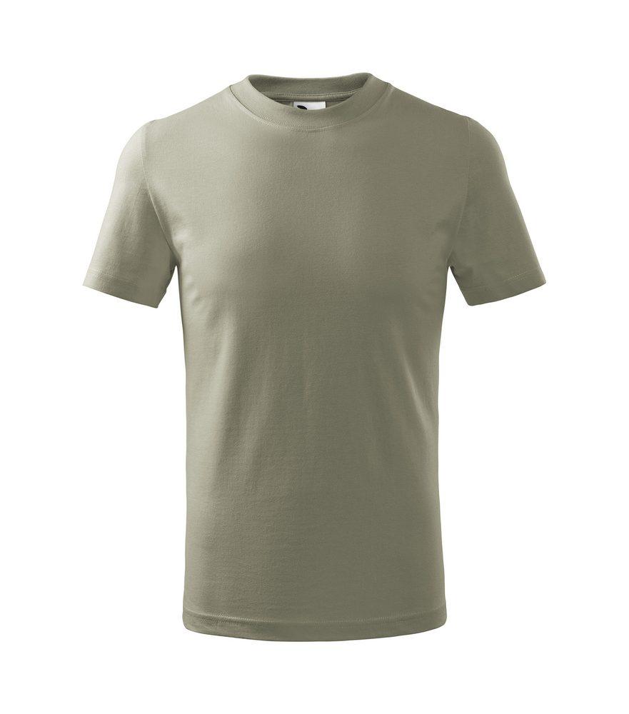Adler (MALFINI) Detské tričko Basic - Světlá khaki | 146 cm (10 let)