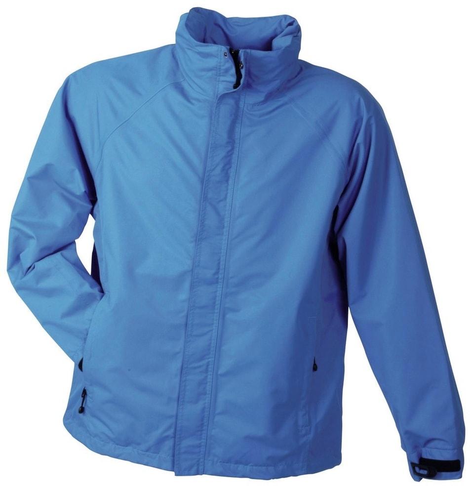 Pánská outdoorová bunda JN1010 - Azurová | XXXL