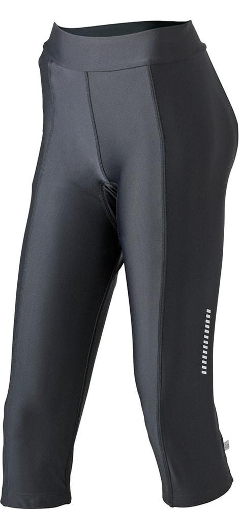 James & Nicholson Dámske cyklistické nohavice s vložkou JN463 - Černá   M