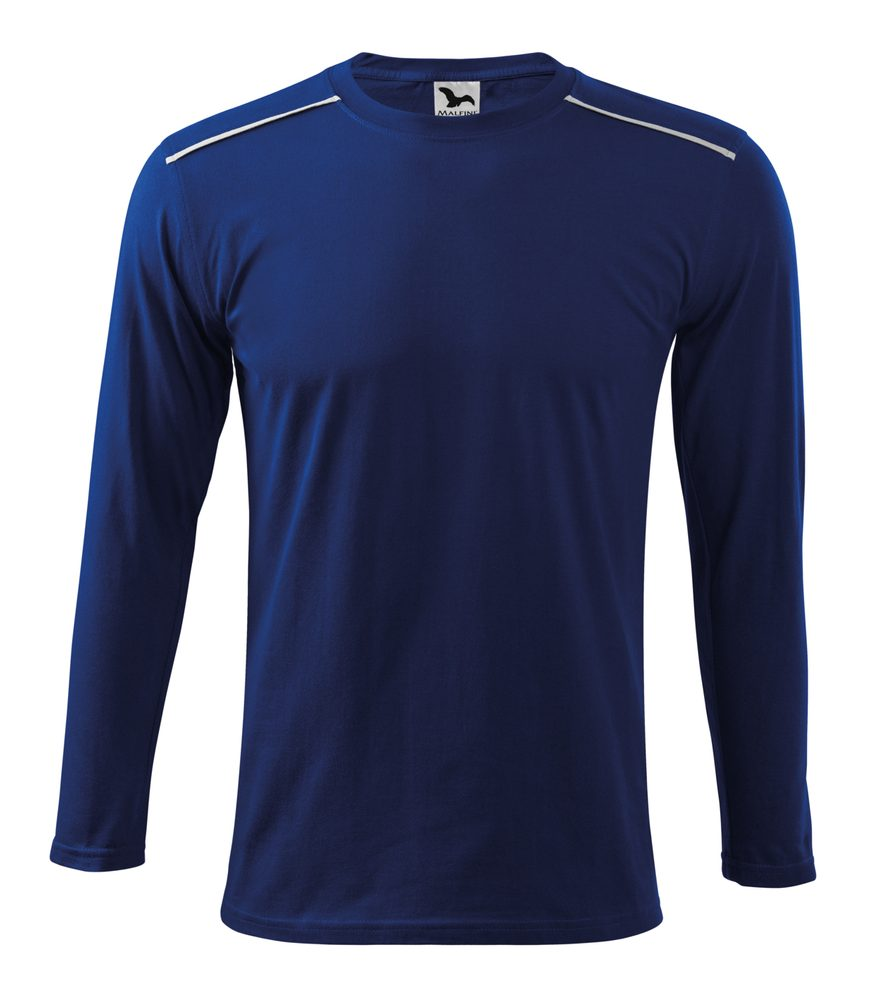 Adler (MALFINI) Tričko s dlhým rukávom Long Sleeve - Královská modrá   L