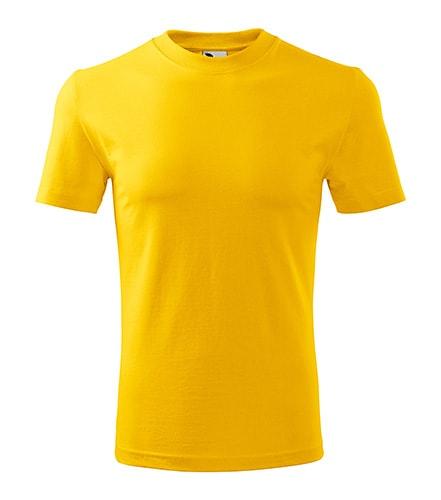 Adler Tričko Classic - Žlutá | XL