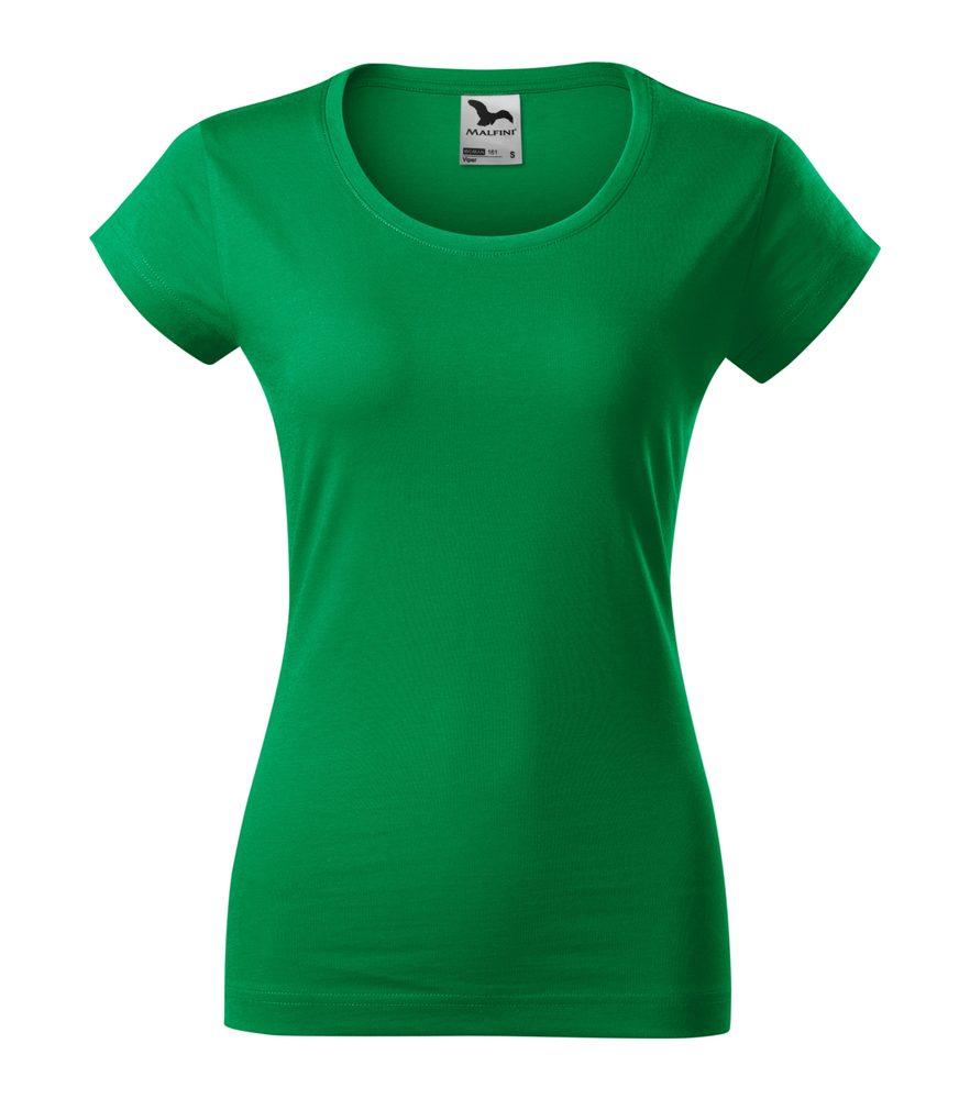 Adler (MALFINI) Dámske tričko Viper - Středně zelená | XL