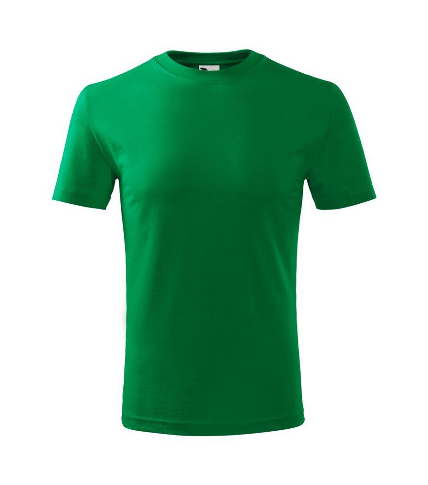 Adler Detské tricko Classic New - Středně zelená   158 cm (12 let)