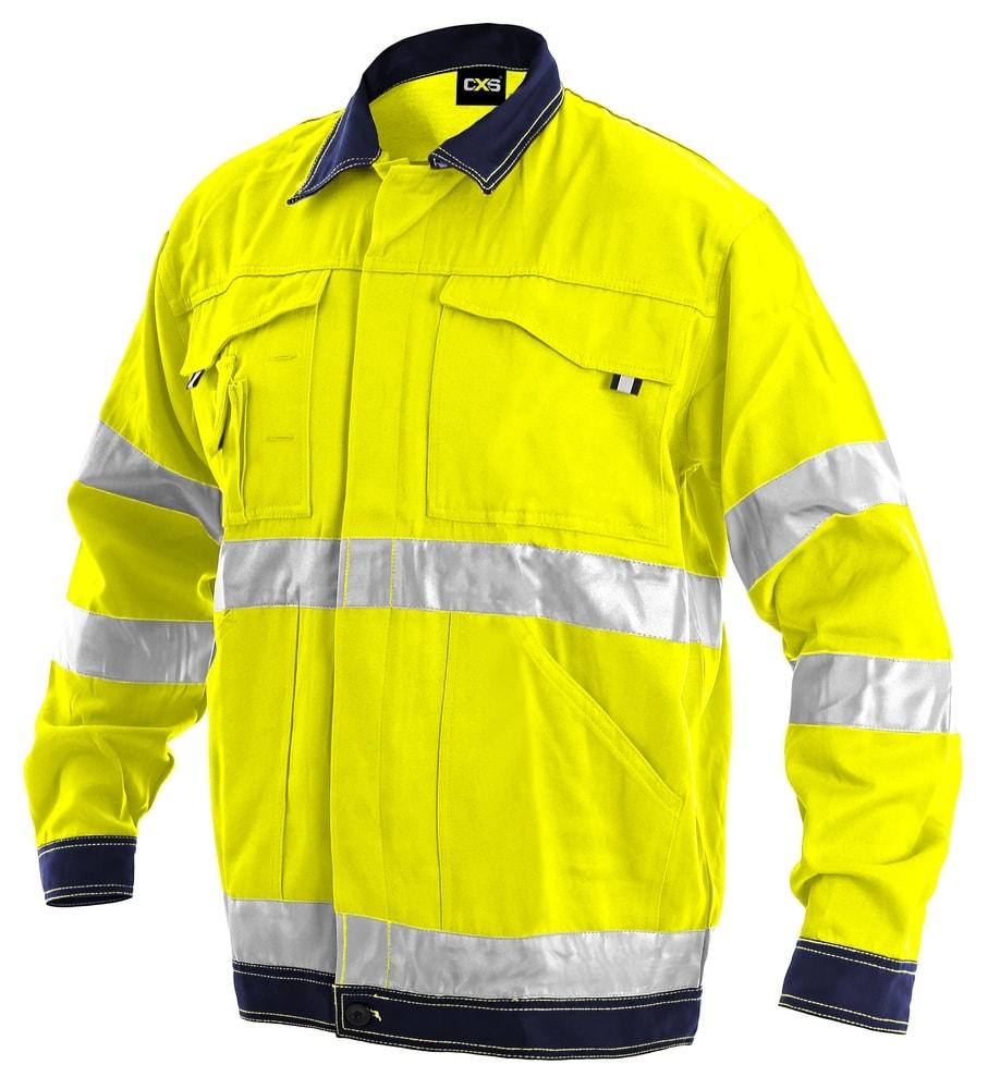 Canis Pracovná reflexná bunda NORWICH - Žlutá | 62