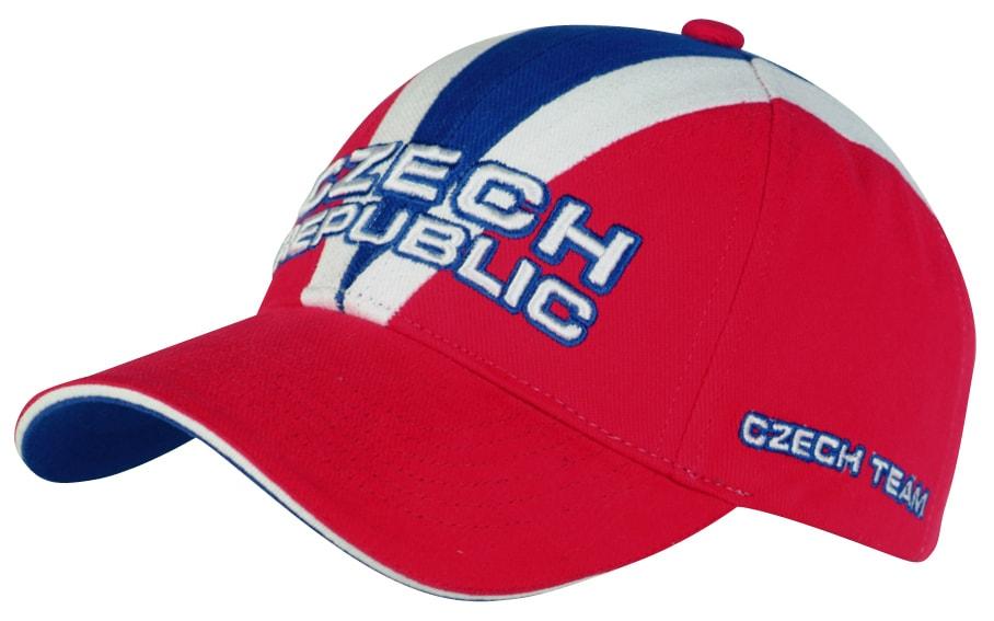 Fan kšiltovka Czech republic
