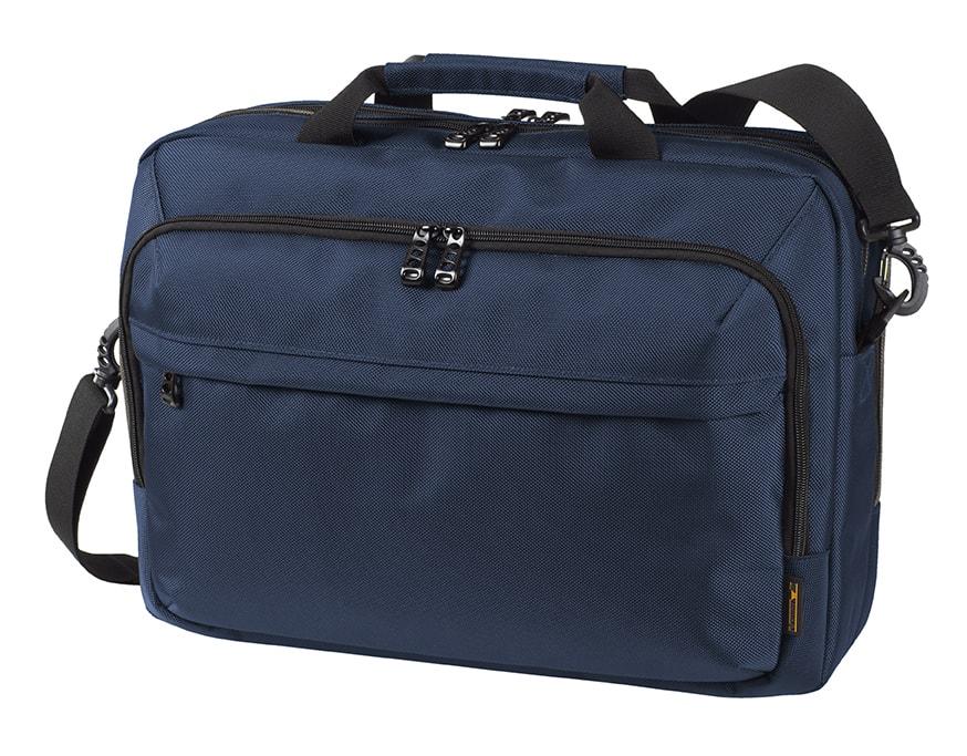 Halfar Business taška na notebook MISSION - Tmavě modrá