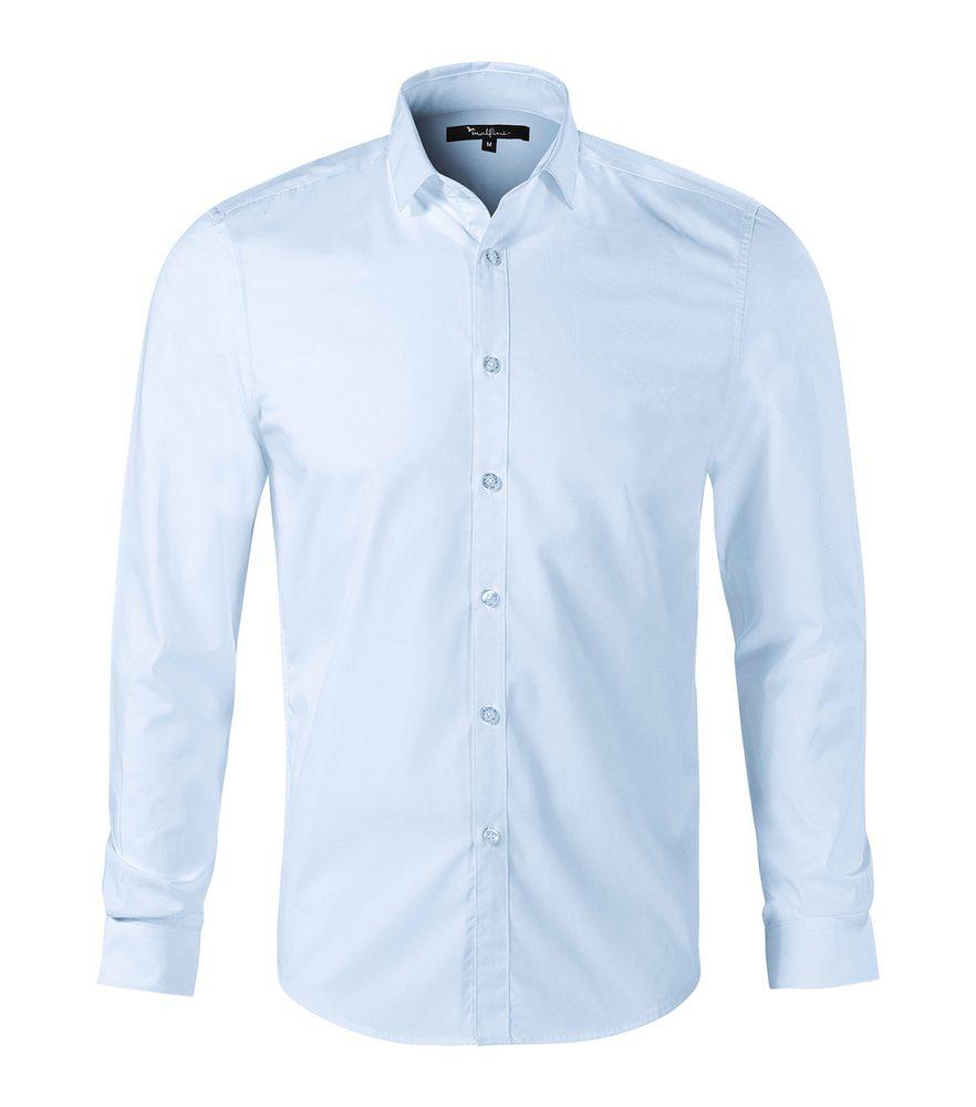 Adler (MALFINI) Pánska košeľa s dlhým rukávom Dynamic - Světle modrá   S