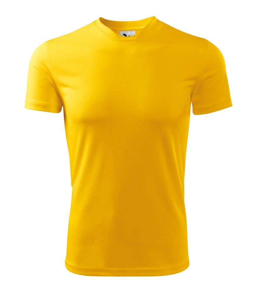 Adler Pánske tričko Fantasy - Žlutá | XXL