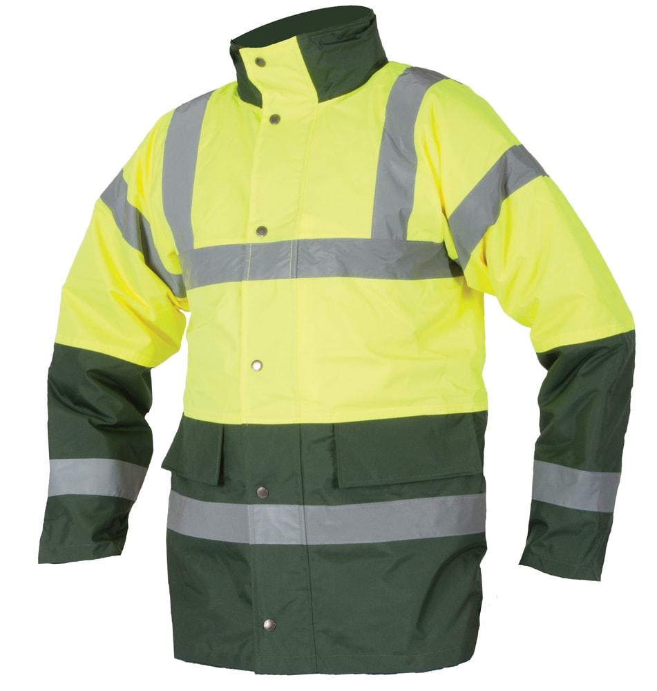 Ardon Zimná reflexná bunda s kapucňou - Žlutá | XXL